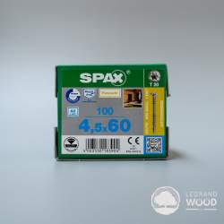 SPAX ® 4,5 x 60 Srebrny 100...