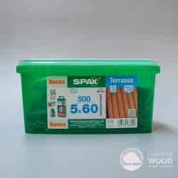 SPAX ® 5 x 60 Srebrny 500...